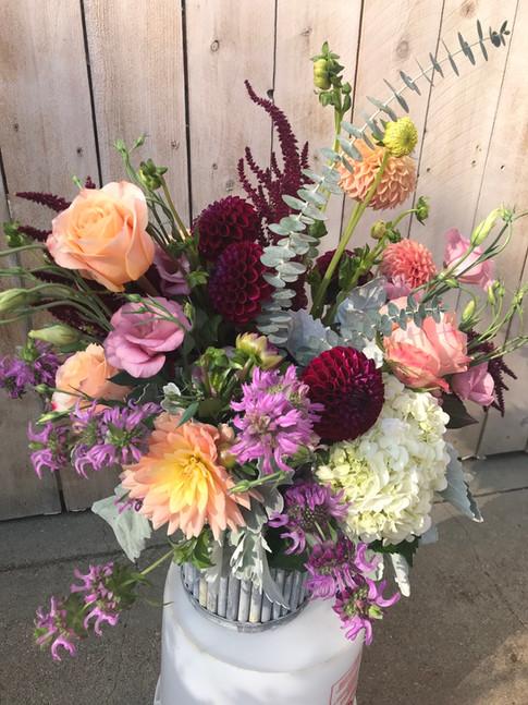 Pastel Varieties in Seasonal Flowers