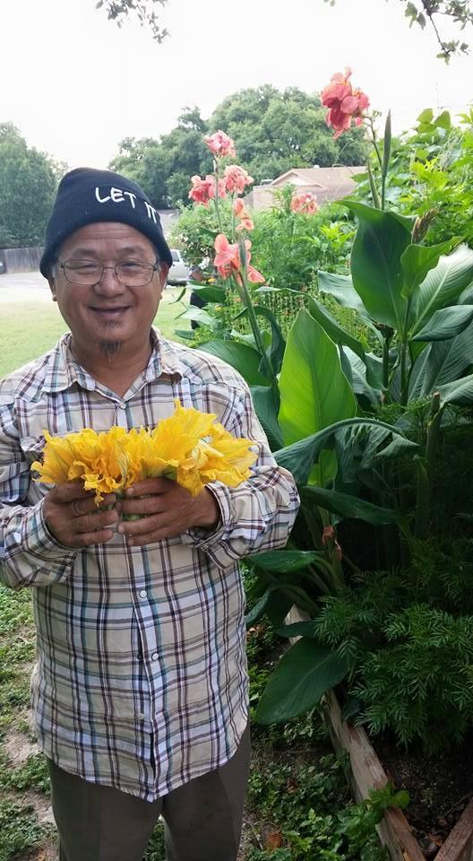 Community Garden Flowers