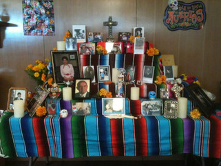 The traditions of the Day of the Dead, Nov 1 & 2