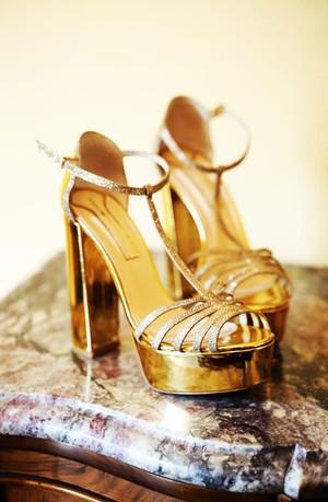 Queen Luxor. 14 cm. Golden specchio y tejido party platino.