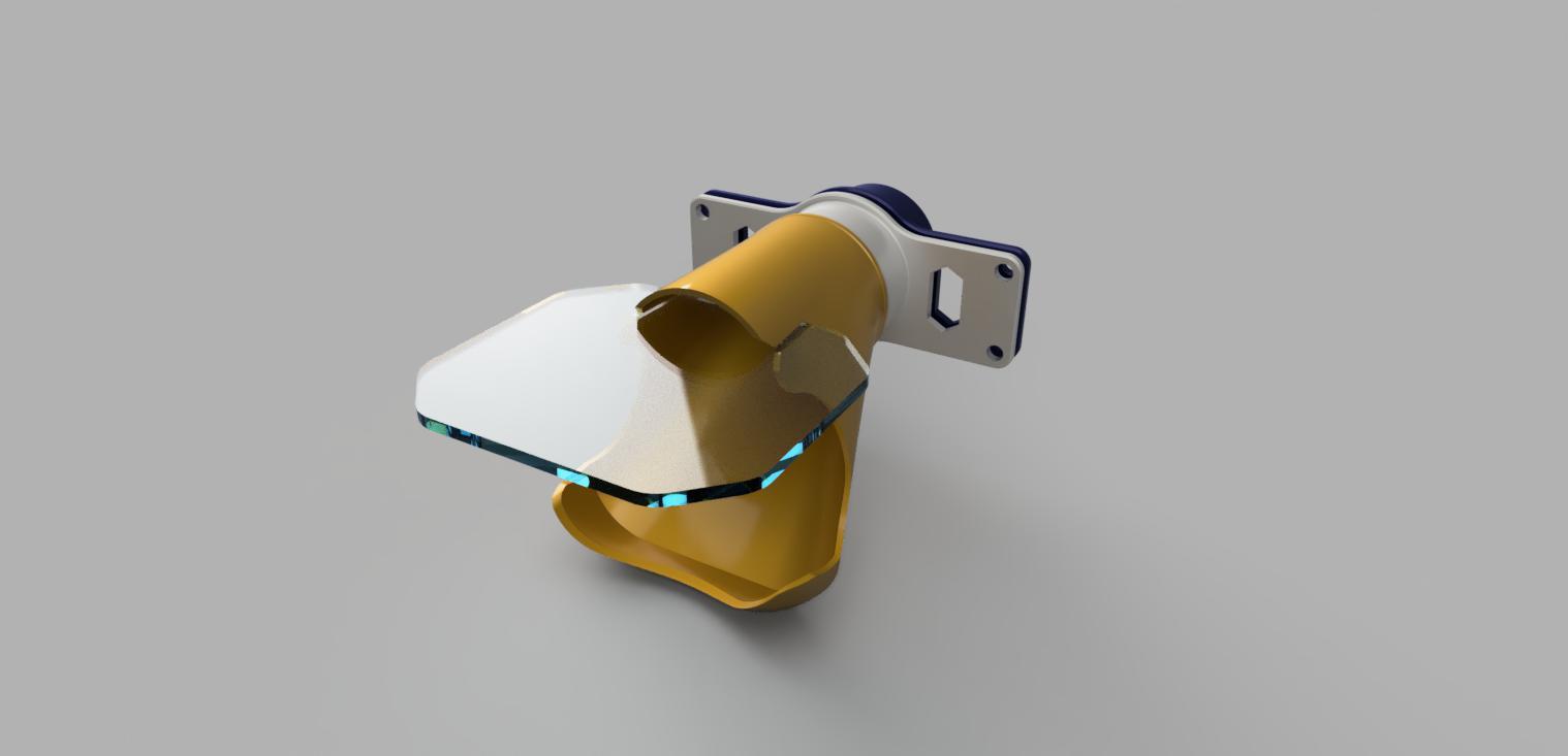 Staubsauger Adapter mit Prallschutz