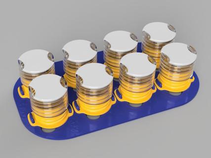 Halterung fuer medizinische Produkte