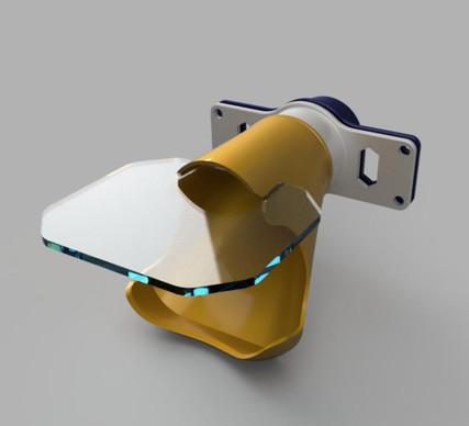 Staubsaugeradapter mit Spritzschutz