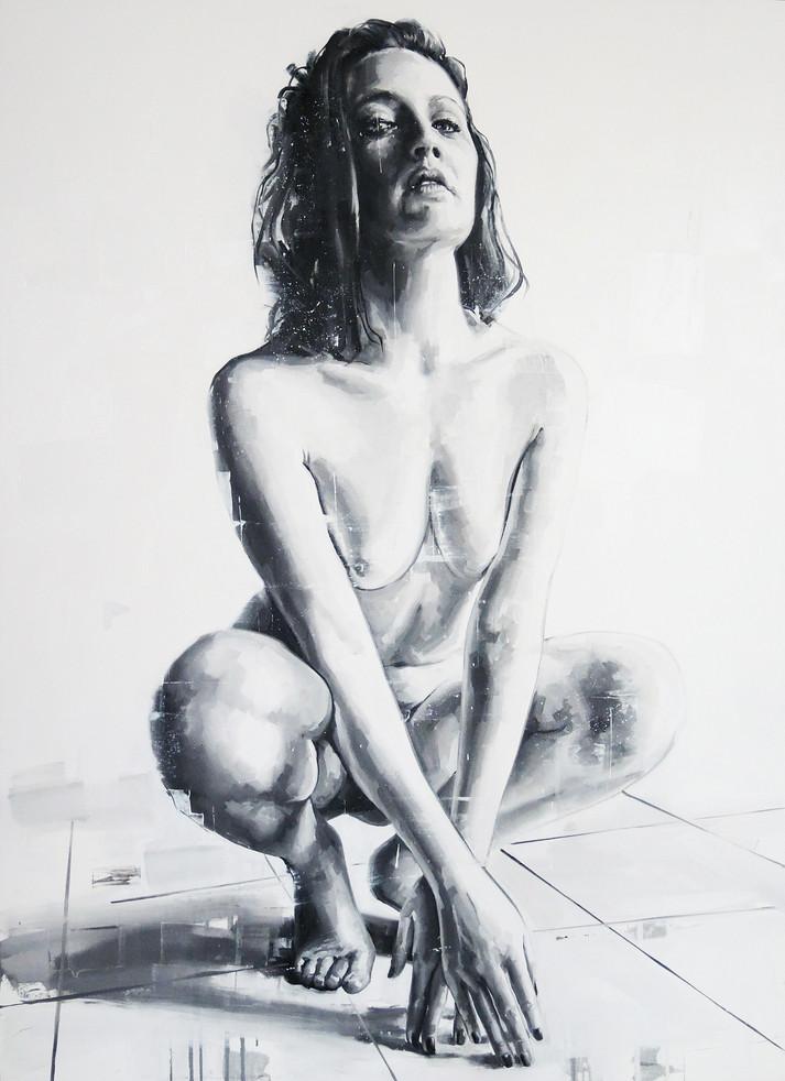 Oil on canvas - 150x130