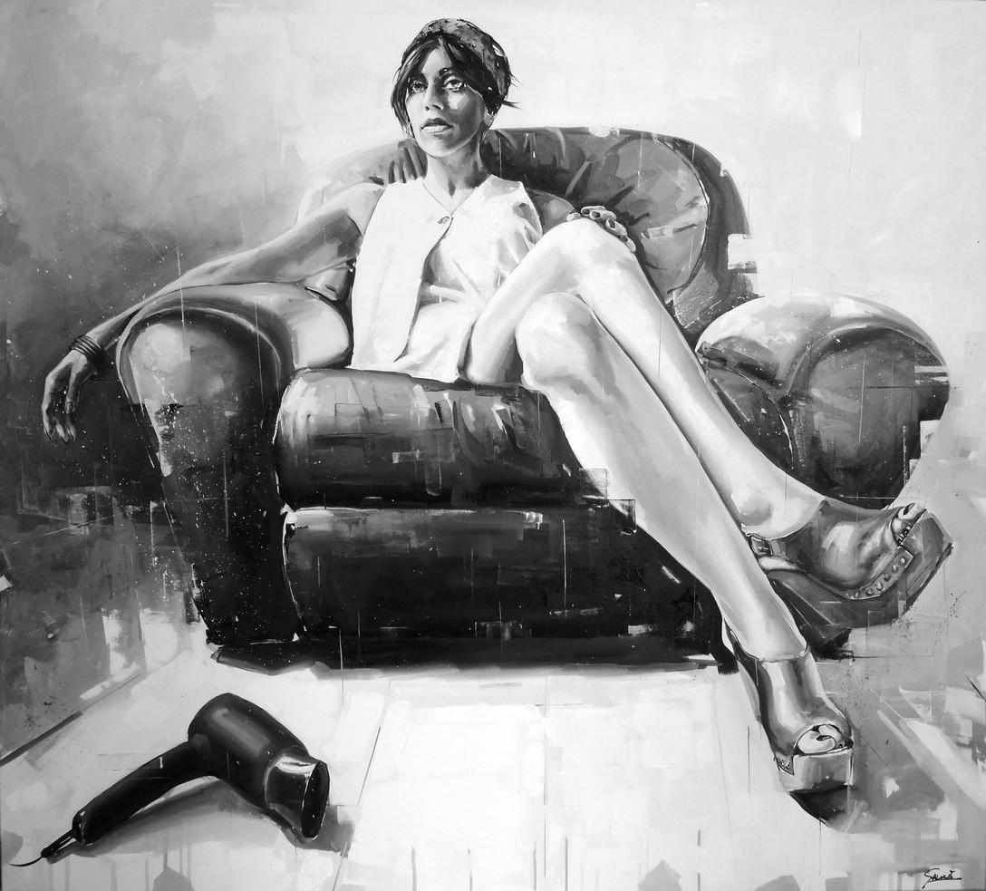 Oil on canvas - 150x135