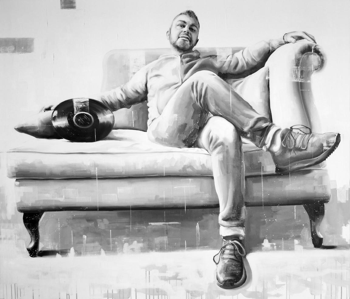 Oil on canvas - 150x120
