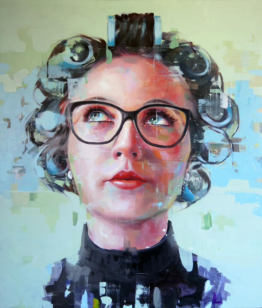 Oil on canvas - 160x130