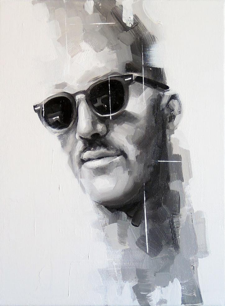Oil on canvas - 50x40