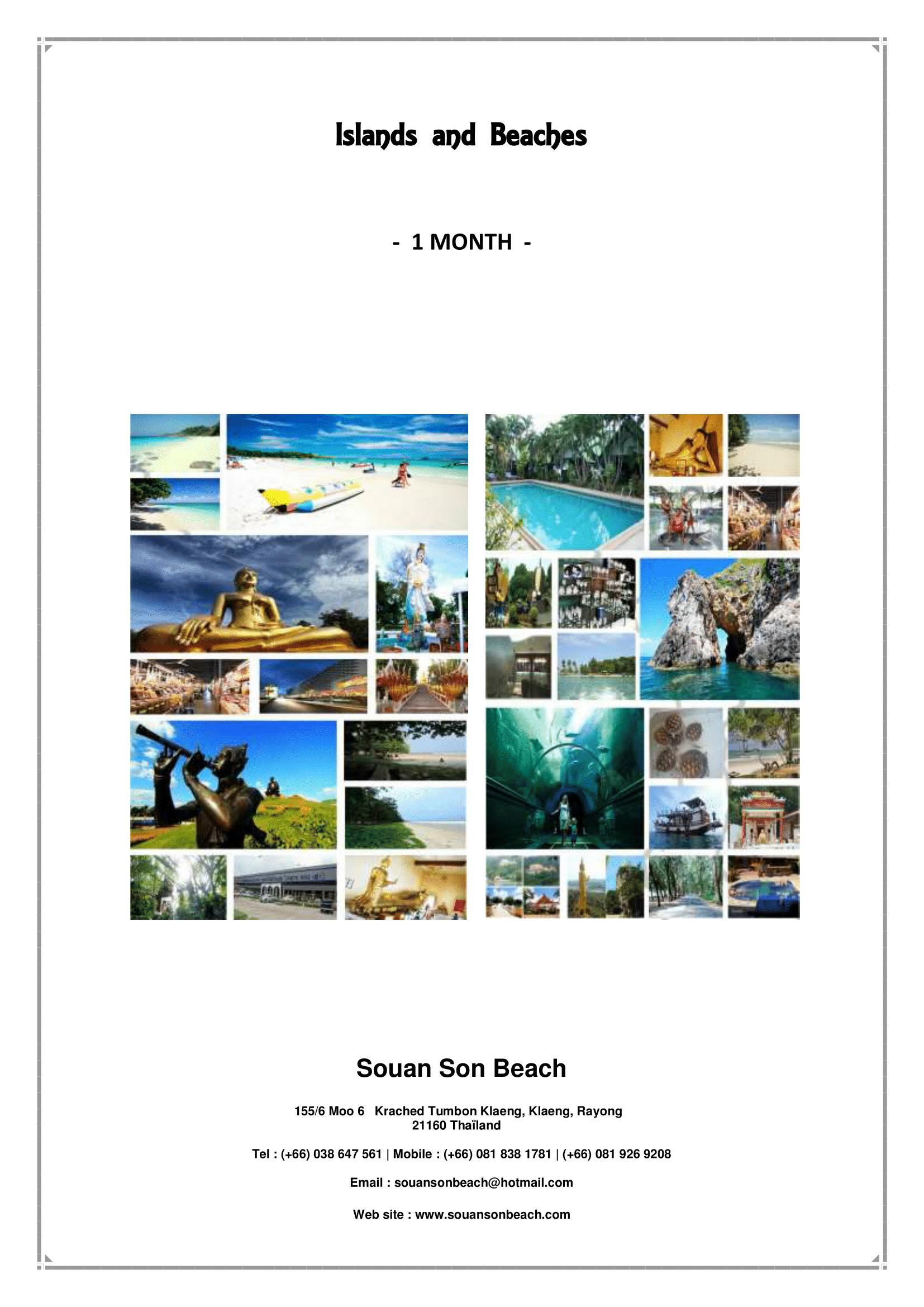 Islands & Beaches 1M
