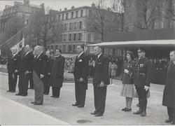 Inauguration par le Président Auriol