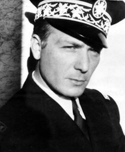 Le commissaire de police Peretti