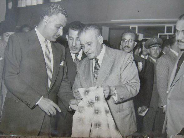 Mohammed El Gammal with Gamal Abdel Naser