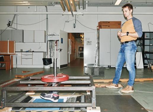 Biomekanik benyttes bl.a. til at test og udvikle sko