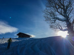 Eckbauer Ski Touring bei Garmisch