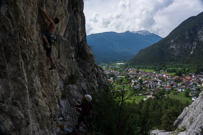 Klettern Nassareit