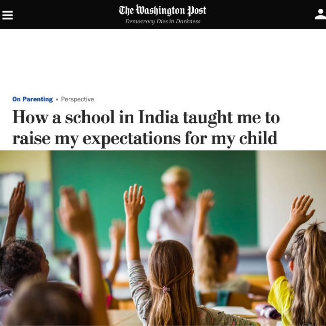 How a School in India Taught Me