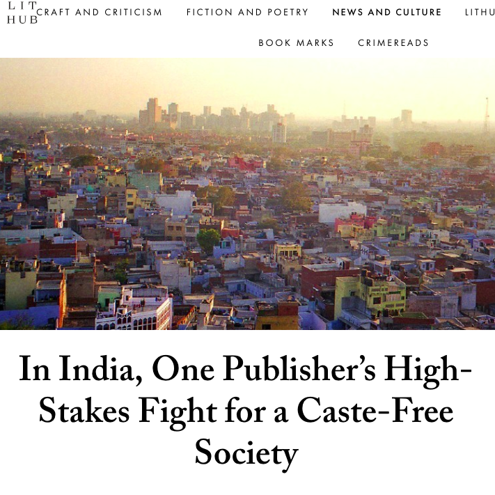 In India, One Publisher's High-Stake
