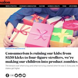Consumerism is Ruining....