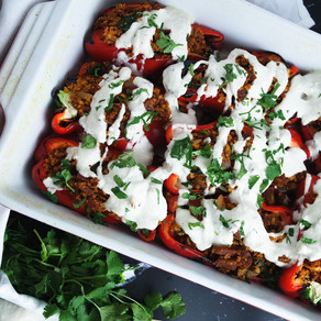 CHIPOTLE STUFFED PEPPERS