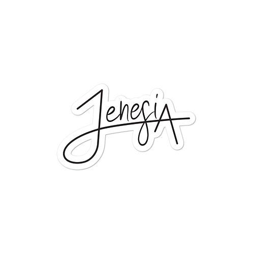 Jenesia Sticker