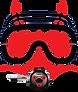 Kia ora dive Logo only V2021 red.png