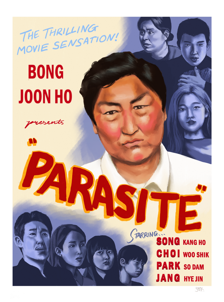 vintage parasite poster