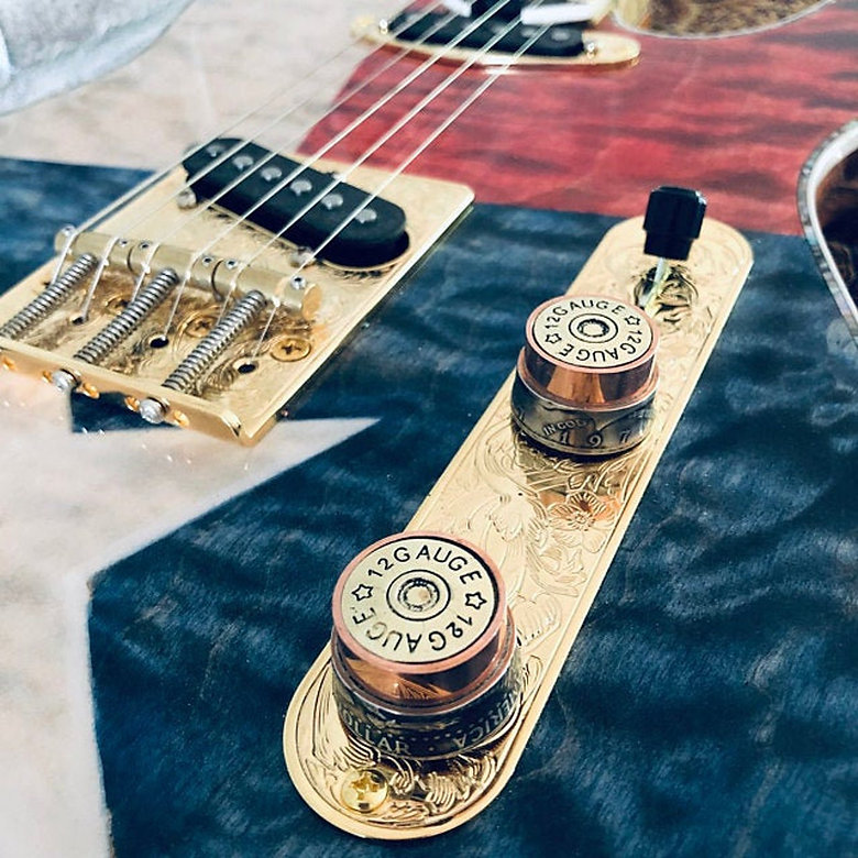 12 Gauge Handmade Guitar Knob