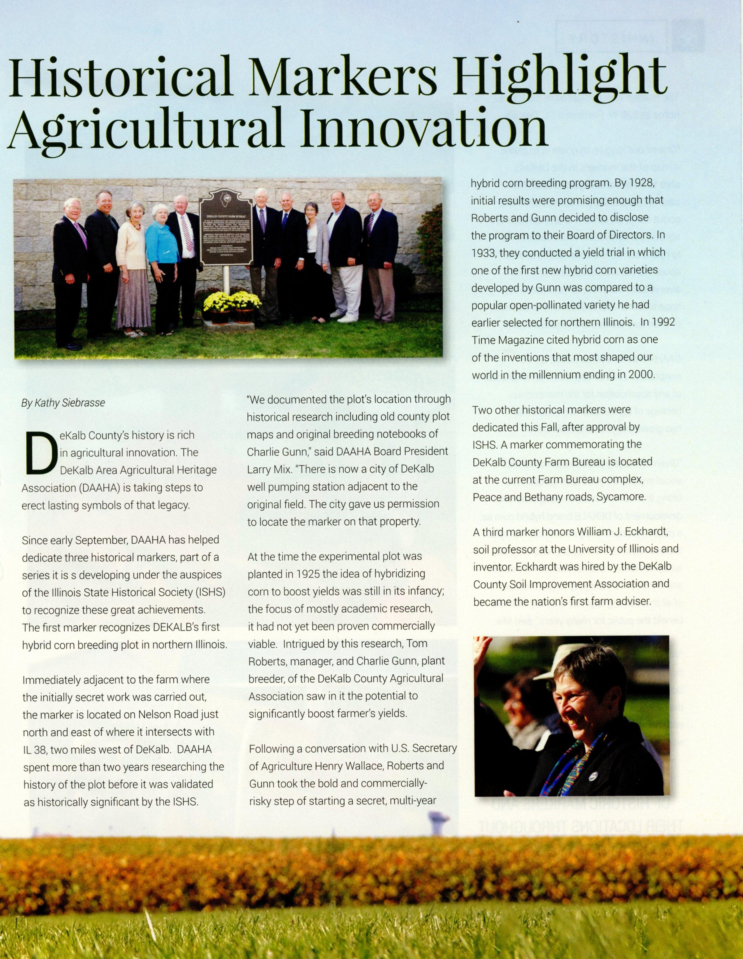 DeKalb County INVironments Magazine Nov-