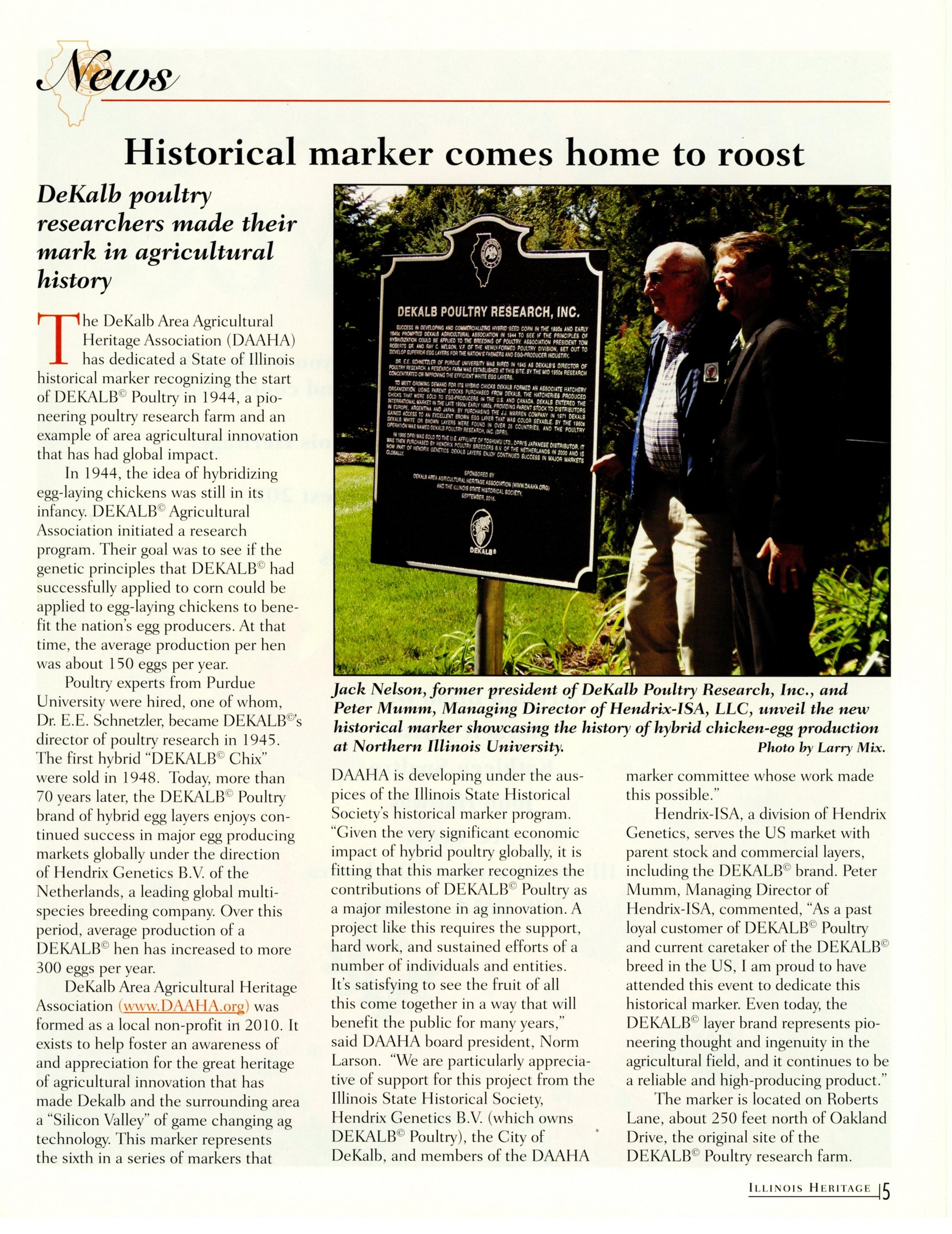 Summer 17 Illinois Heritage