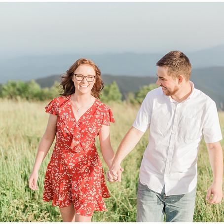 Surprise Proposal | Shenandoah National Park | Cole Mountain | Peyton & Taylor Engagement