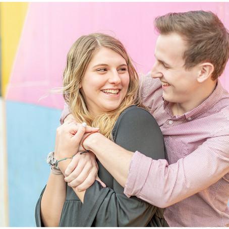 Downtown Harrisonburg, VA | JMU Couples Session | Jonah + McKay