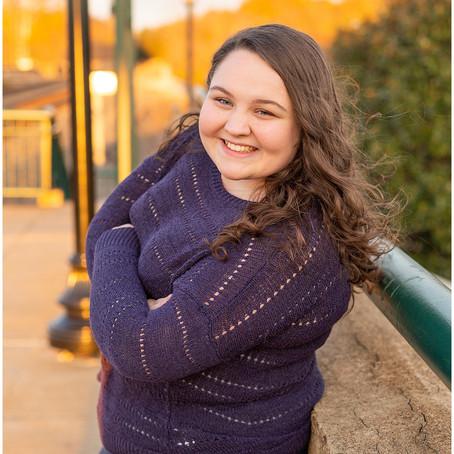 Sarah's downtown Fredericksburg Senior Portrait Session | Mountain View High School