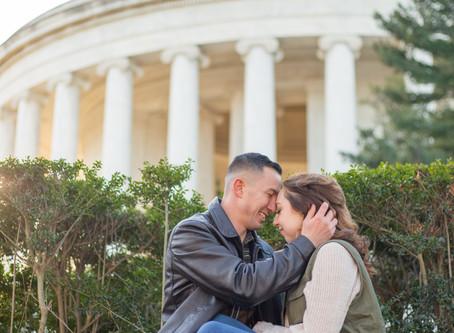 Mike + Gabby ~ Washington D.C.