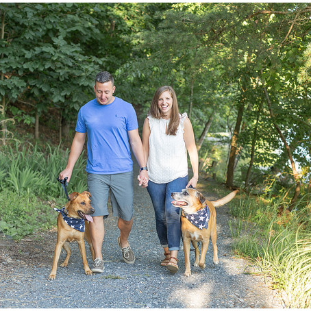 Lake-Side Summer Engagement | Frederick, Maryland | Joe + Taylor