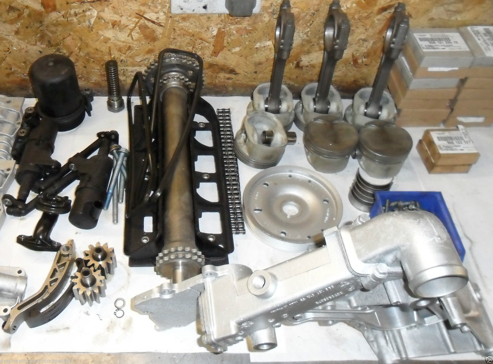 Porsche Cayman engine rebuild cayman 2 7 and 3 4 supply and fit