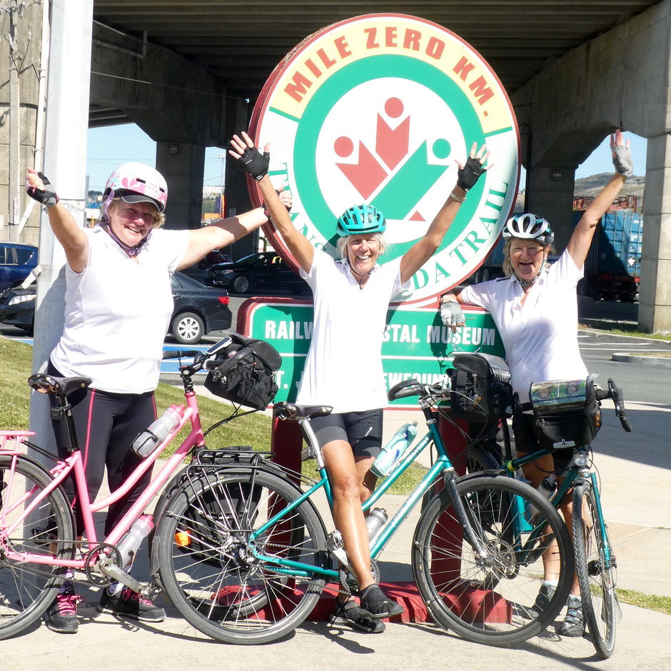 Day 82:  Holyrood to St. John's, NL 48 km - Epic ride COMPLETED