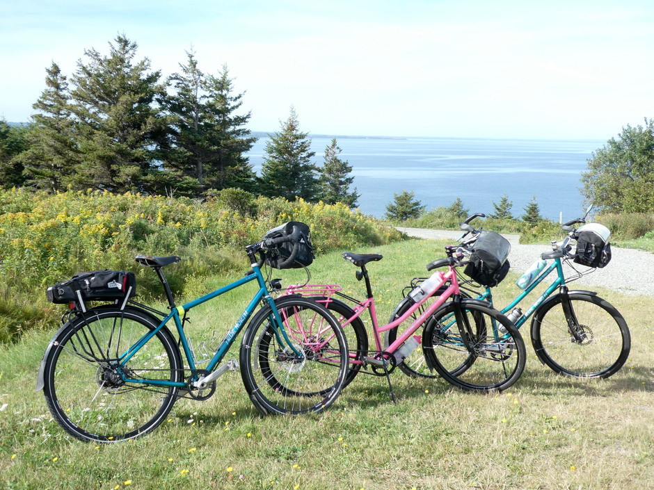 Day 78:   Antigonish to Iona, NS 66 km - The best routes are the ones we have not ridden yet