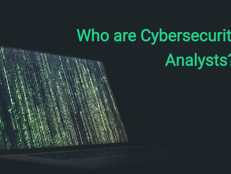 Who are Cybersecurity Analysts?