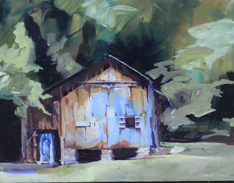 Blue Barn Next to Ozone Ziplines