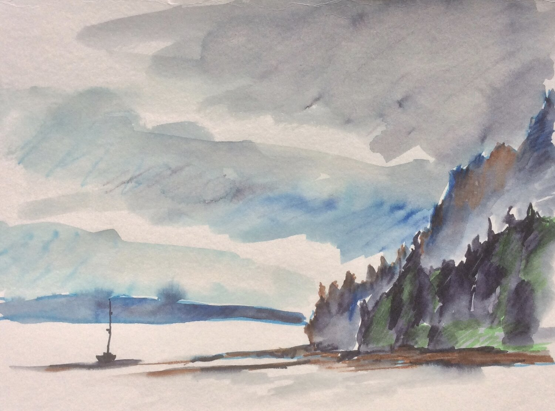 Alaska Sketch 13