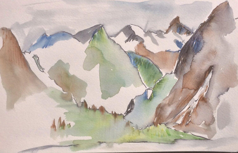Alaska Sketch 4