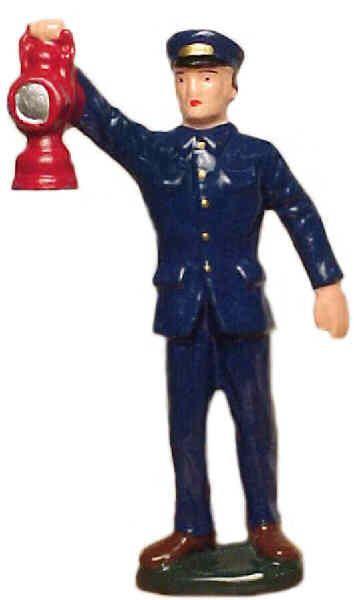 #036 - Conductor w/ Lantern