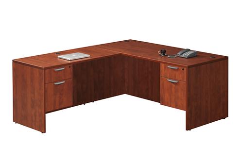 A20 L shape desk with 2 B.F files .