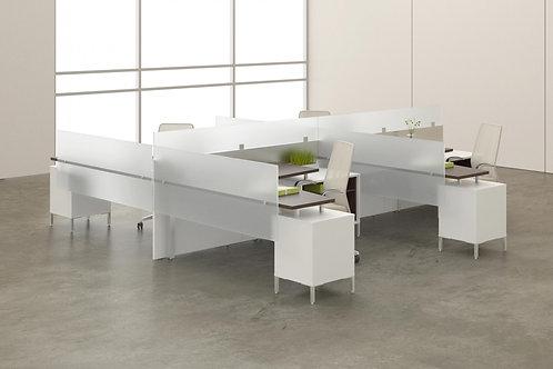 Desk Makers TeamWorX Layout 231