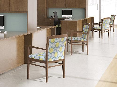 Admire wood gust chair - B