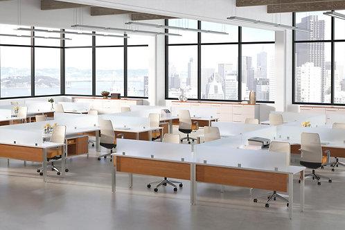 Desk Makers TeamWorX Layout 237