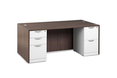 A18 Desk with 1 B.B.F & 1 F.F. file.