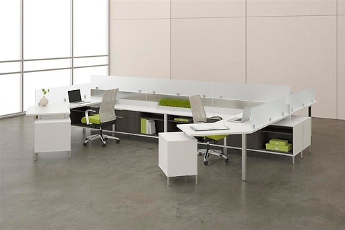 Desk Makers TeamWorX Layout 2657