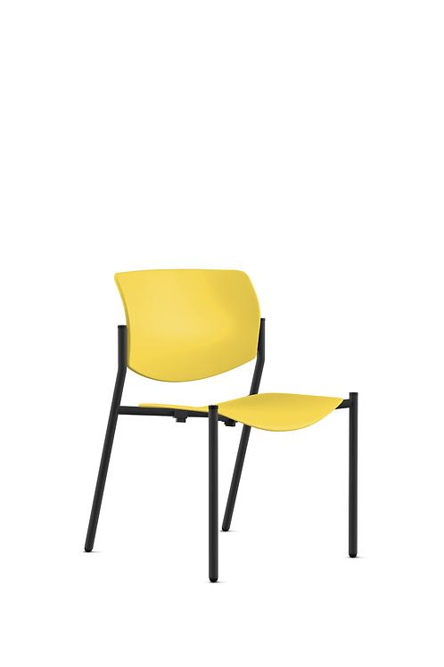 9to5 Shuttle chair-lemon yellow