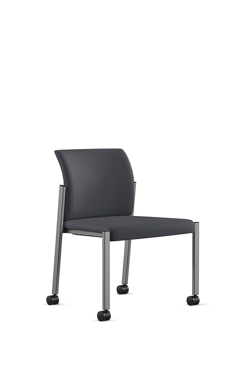 9to5 Link Chair-Avant pattern,denim